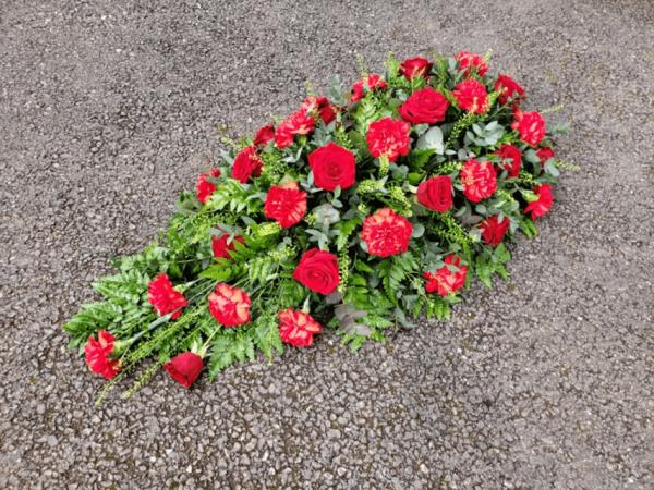 Rose & Carnation Single Ended Spray
