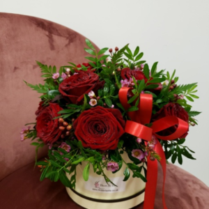 Rose Hat Box