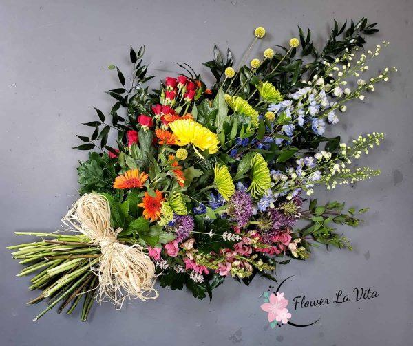 Rainbow flower sheaf