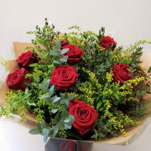 valentines day flowers-red roses-Torquay-Torbay-florist
