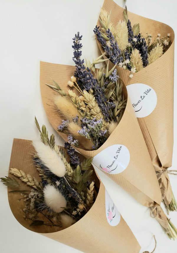 dried flowers-lavender love-mini bouquets-flowers